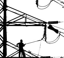 Electrical Line Worker by Kent DuFault