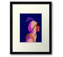 Sleep Well, Princess Framed Print