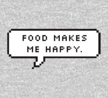 Food Makes Me Happy by deathspell