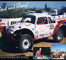 Baja: Dust & Glory! by Nadya Johnson