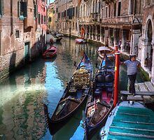 ...waiting for clients in Venice....  by John44