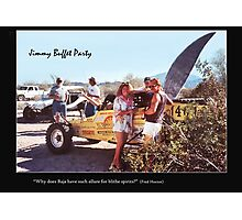 Desert Shark! Photographic Print