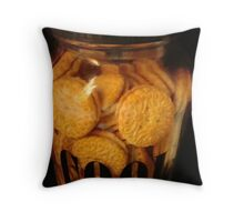 Cookie JAR - Keeping it full   ^ Throw Pillow