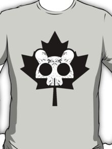 Canadian Everyday - Beaver Skull / Leaf Logo - Canada Day T-Shirt