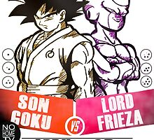 Goku Vs Frieza 2015 (The Rematch) by JJJericho