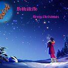 HOHOHO,Merry Christmas...card by MaeBelle