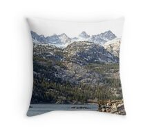 """Lake Sabrina"" Throw Pillow"