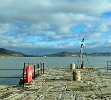 End Of Cobb, Lyme Regis by lynn carter