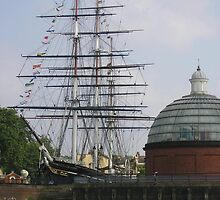 Cutty Sark (before the fire), Greenwich by MagsWilliamson