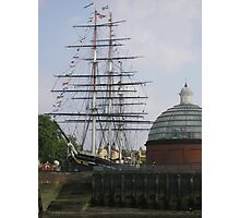 Cutty Sark (before the fire), Greenwich Photographic Print