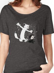 Ghost and Snow Women's Relaxed Fit T-Shirt
