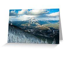 Banff - Alberta  Greeting Card