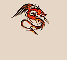 Fire Dragon, Tattoo Style, Fantasy T-Shirt