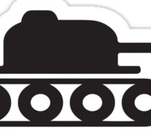 You break it, you tank it Sticker