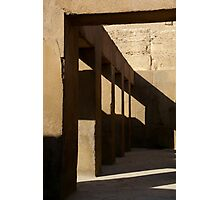 Ancient Hallway Photographic Print