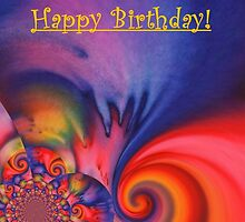 Birthday Card - Enjoy Life! by Caroline  Lembke