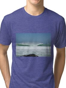 New Years Wave Tri-blend T-Shirt