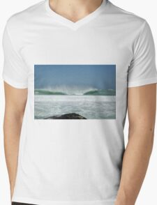 New Years Wave Mens V-Neck T-Shirt