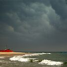 Storm - Marwanthe, S. India by Roneeta Nandi
