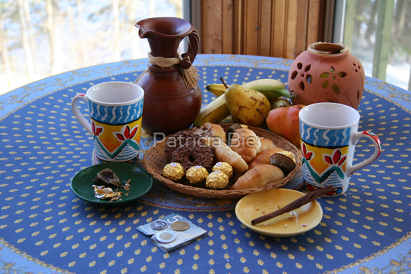 Nature Morte & Bec Sucré by Patricia Bier