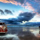 Sunset Surfer VW Camper Van by Paul Thompson Photography
