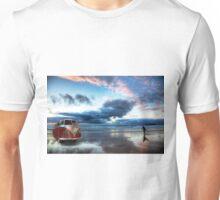 Sunset Surfer VW Camper Van Unisex T-Shirt