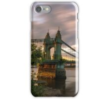 Hammersmith Bridge Sunset iPhone Case/Skin