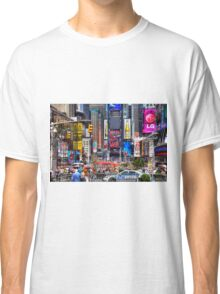 Busy Times Square Classic T-Shirt