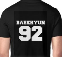 Baekhyun EXO 92 Football Design EXO-K Unisex T-Shirt