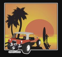 Dune Buggy Sunset by Frank Schuster