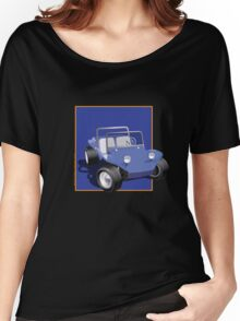 Blue Dune Buggy Blue Box Women's Relaxed Fit T-Shirt