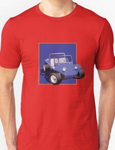 Blue Dune Buggy Blue Box T-Shirt