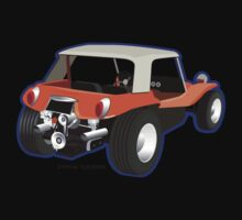Dune Buggy Manx Back by Frank Schuster