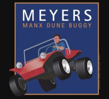 Dune Buggy Meyers Manx Jump  by Frank Schuster