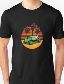 Dune Buggy Manxter Sunset T-Shirt