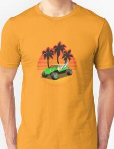 Dune Buggy Manxter Sunset T-Shirt