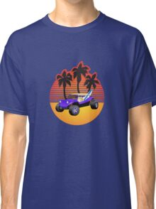 Dune Buggy Manxter Purple Sunset Classic T-Shirt