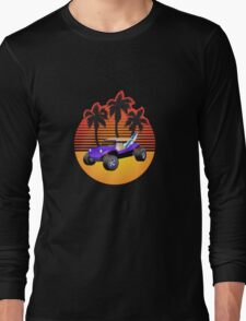 Dune Buggy Manxter Purple Sunset Long Sleeve T-Shirt
