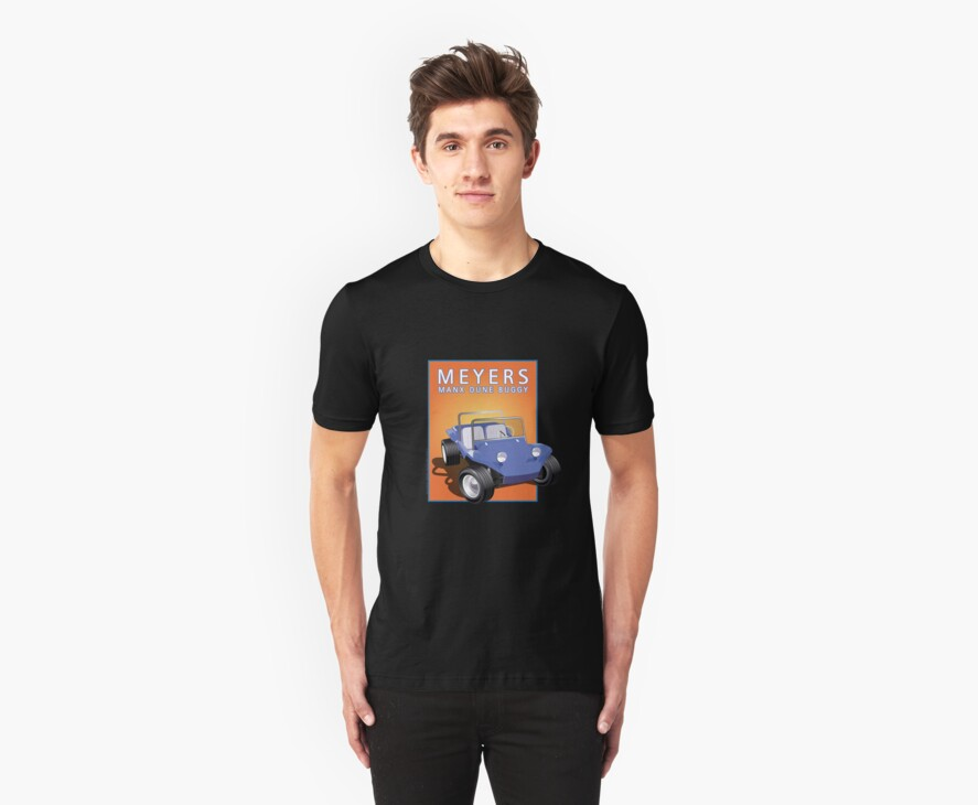 Dune Buggy Blue Manx Orange Box by Frank Schuster