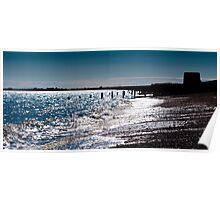 Hythe Beach & Martello Tower Poster