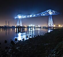 Teesside Transporter Bridge by David Lewins
