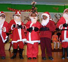 Santa school kids by digimage