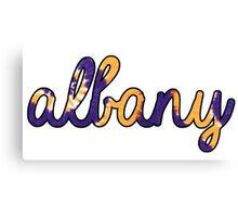 Albany Tie Dye Canvas Print