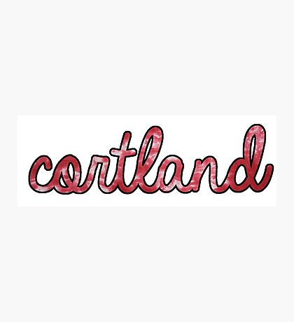 Cortland Tie Dye Photographic Print