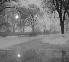 Hommage à Baudelaire (Park Nicolas-Viel, Mtl, Canada) by Patricia Bier