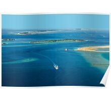 The Maldives - North Ari Atolls Poster