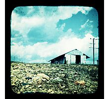The Old Tin Shed Photographic Print