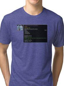 Shirt of Irresistibility Tri-blend T-Shirt
