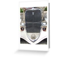 1933 Ford Greeting Card