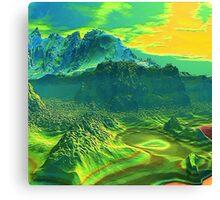 Canyon Mid Morning 2000 Canvas Print